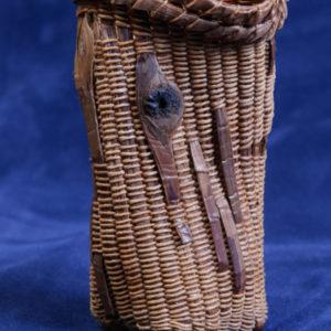 cedar bark vessel
