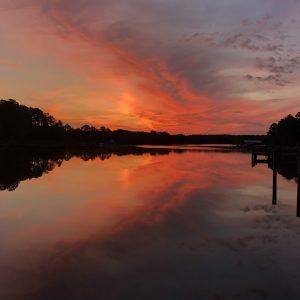 Sunrise on the San Domingo Creek