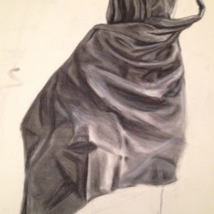 Fabric in Charcoal