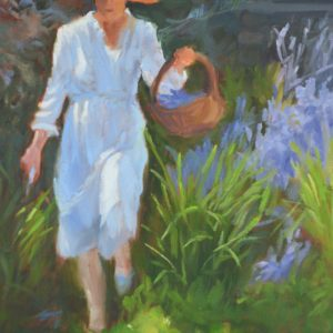 Chantal Dans Le Jardin